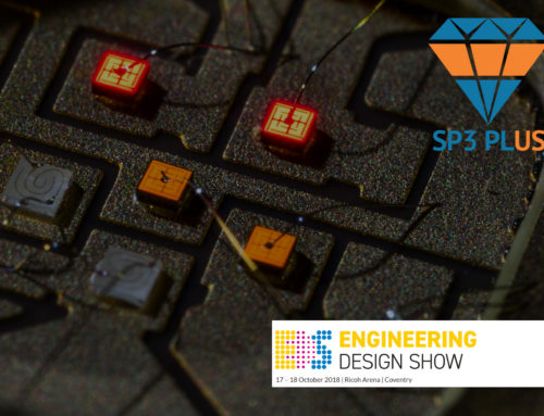 SP3 Plus at the Engineering Design Show 2018